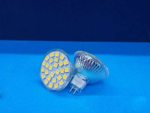 LAMPADA FARETTO LED MR16 30 60 LED SMD3528 5050 4W 6W 12V CALDA FREDDA NATURALE
