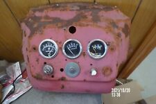 Original Massey Harris 33 Tractor Dash Assembly Withgauges Mh 33