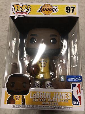 lebron james (yellow Jersey) (Walmart Exclusive) funko pop 10 inch | eBay