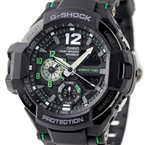 Casio watch G-SHOCK GRAVITYMASTER GA-1100-1A3JF Men from japan New