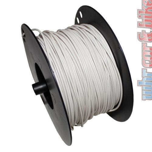 Hella KFZ-Kabel FLY Fahrzeugleitung 2,5 mm² weiß Kupfer 1-adrig Meterware