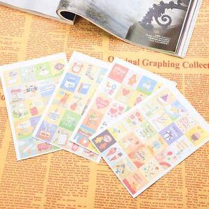 80pcs-DIY-Korean-Diary-Deco-Planner-Notebook-Schedule-Cute-Stamp-Sticker-Decor