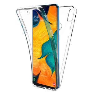 "Coque Silicone Protection 360° Avant et Arrière Samsung Galaxy A20 6.4"" SM-A205F"