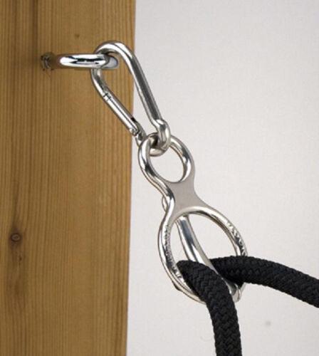 Toklat Blocker chrome avec Arts Martiaux GEAR LOCK Loc Tie Anneau remorque Cross liens cheval de sécurité