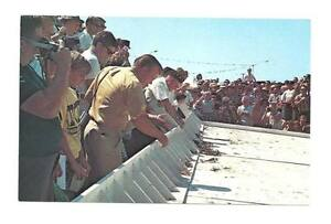 CRISFIELD MD Crab Derby Race Starting Gate Vtg Postcard
