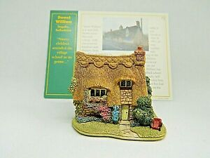 Lilliput-Lane-Sweet-William-Collectable-Vintage-Ornament-With-Deeds