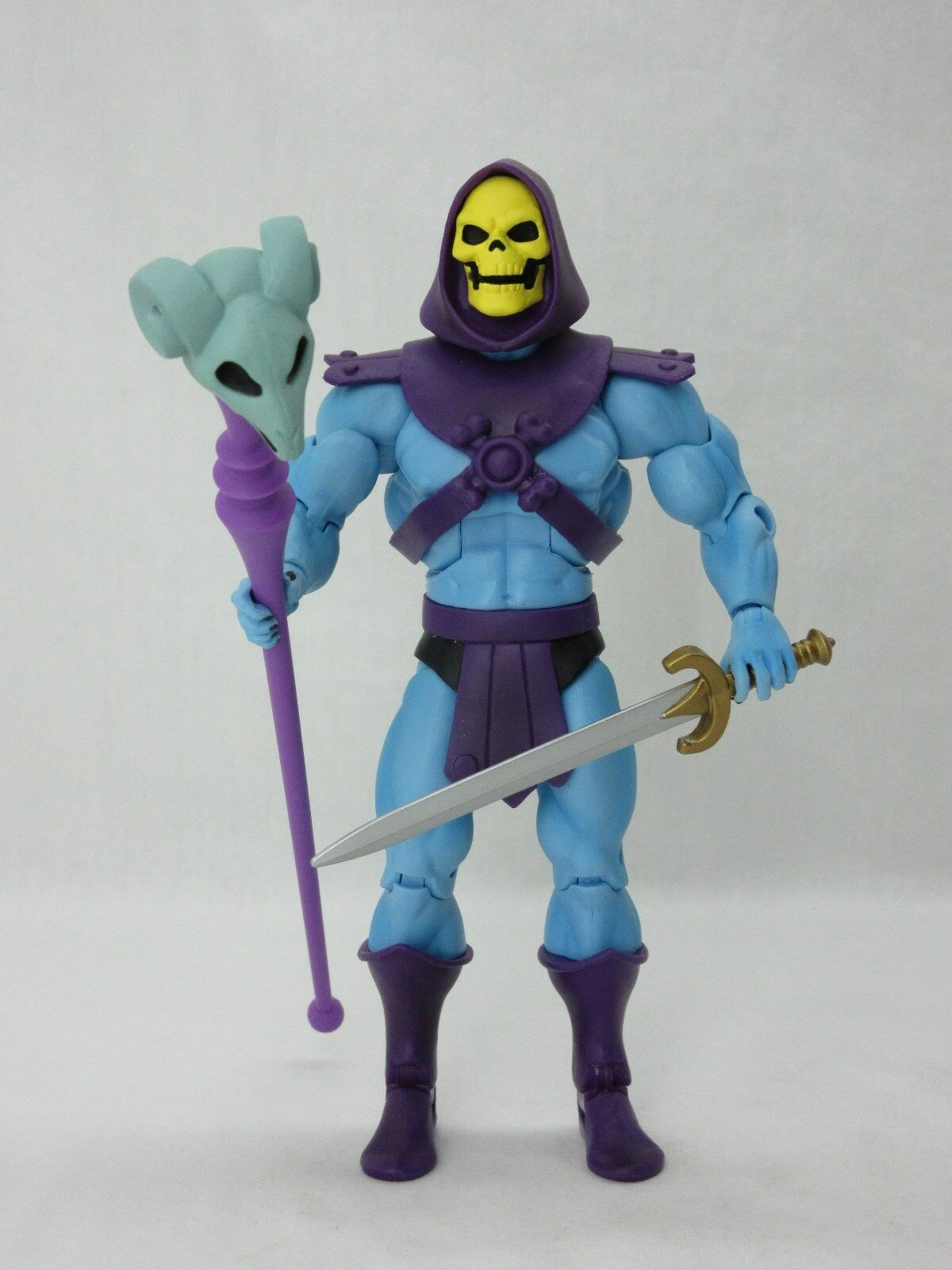 MOTUC,MOTU,FILMATION SKELETOR 2.0,Masters Of The Universe Classics,100% Complete