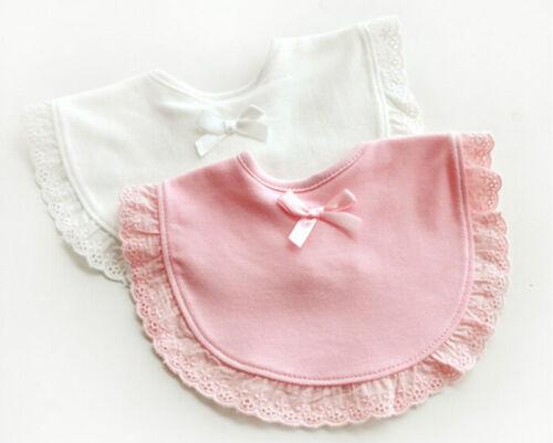 Nouveau-né bébé coton bavoirs garçon fille serviette sal BB