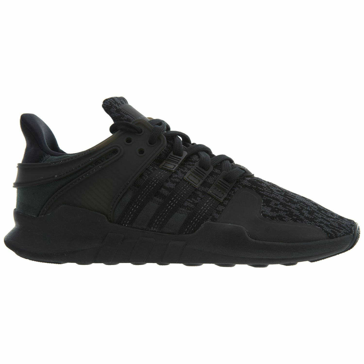 Adidas EQT Support Adv Mens BY9589 Black Pixel Knit Athletic Shoes Size 9.5
