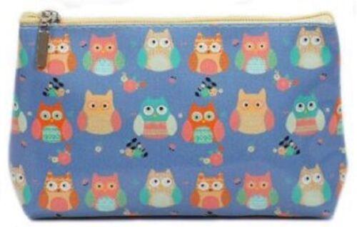 73114 Ladies Ella Owl Print Wash Bag