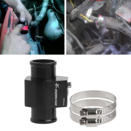 30mm Water Temp Temperature Joint Pipe Sensor Gauge Radiator Hose Adapter Hot