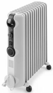 NEW DeLonghi Radia TRRS1224T 2400W Oil Column Heater with Timer