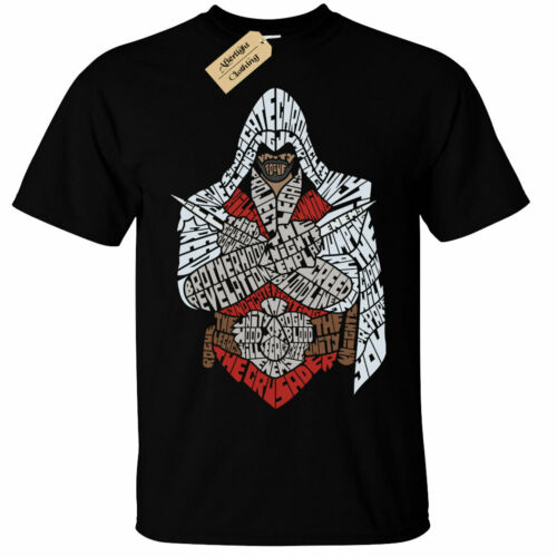 Kids Boys Girls Assassins T-Shirt Mens knight templar assassin gift