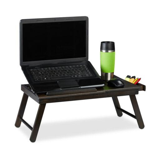 Laptoptisch Betttablett Knietisch Lapdesk Falttisch Buchhalter Frühstückstisch