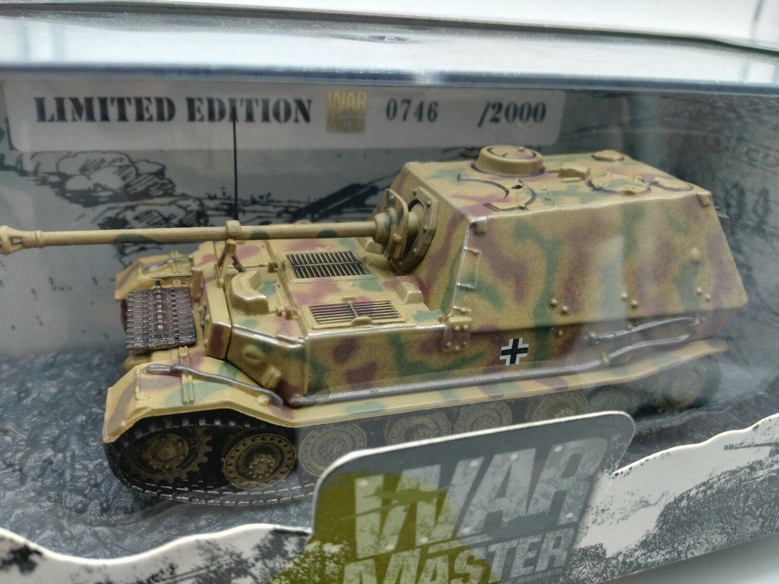 Warmaster 1 72  Dragon Armor Elefant Tank Carro Armato Panzerkampfwagen