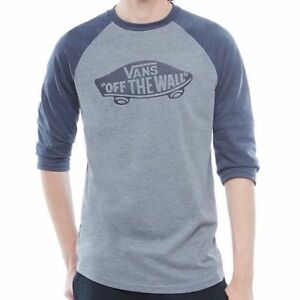 6fb1d6366ea Image is loading VANS-OTW-RAGLAN-LS-T-SHIRT-HEATHER-GREY-