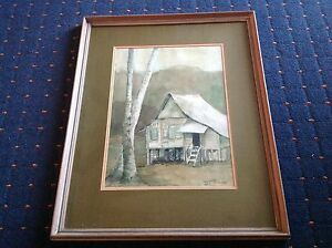 CHUAH-SIEW-TENG-SIGNED-FRAMED-WATERCOLOUR