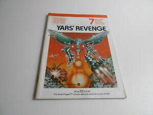 Anleitung zum Atari 2600 Spiel Yar´s Revenge