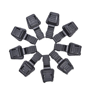 20x-Black-Paracord-Plastik-Reissverschluesse-Pull-Ersatz-fuer-Sport-Outdoor-QY