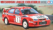 Tamiya 24220 1/24 Model Kit Mitsubishi Lancer Evolution VI Evo 6 WRC '99 Makinen