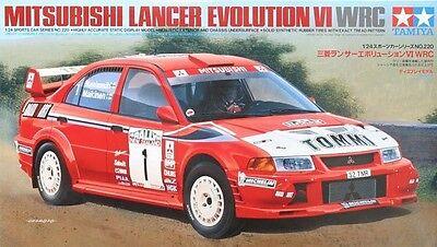 Tamiya 24213 1//24 Scale Model Car Kit Mitsubishi Lancer Evolution VI Evo 6 CP9A