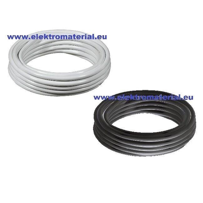 100m   m H05VV-F 2x1,5mm² PVC Leitung Schlauchleitung schwarz oder weiß