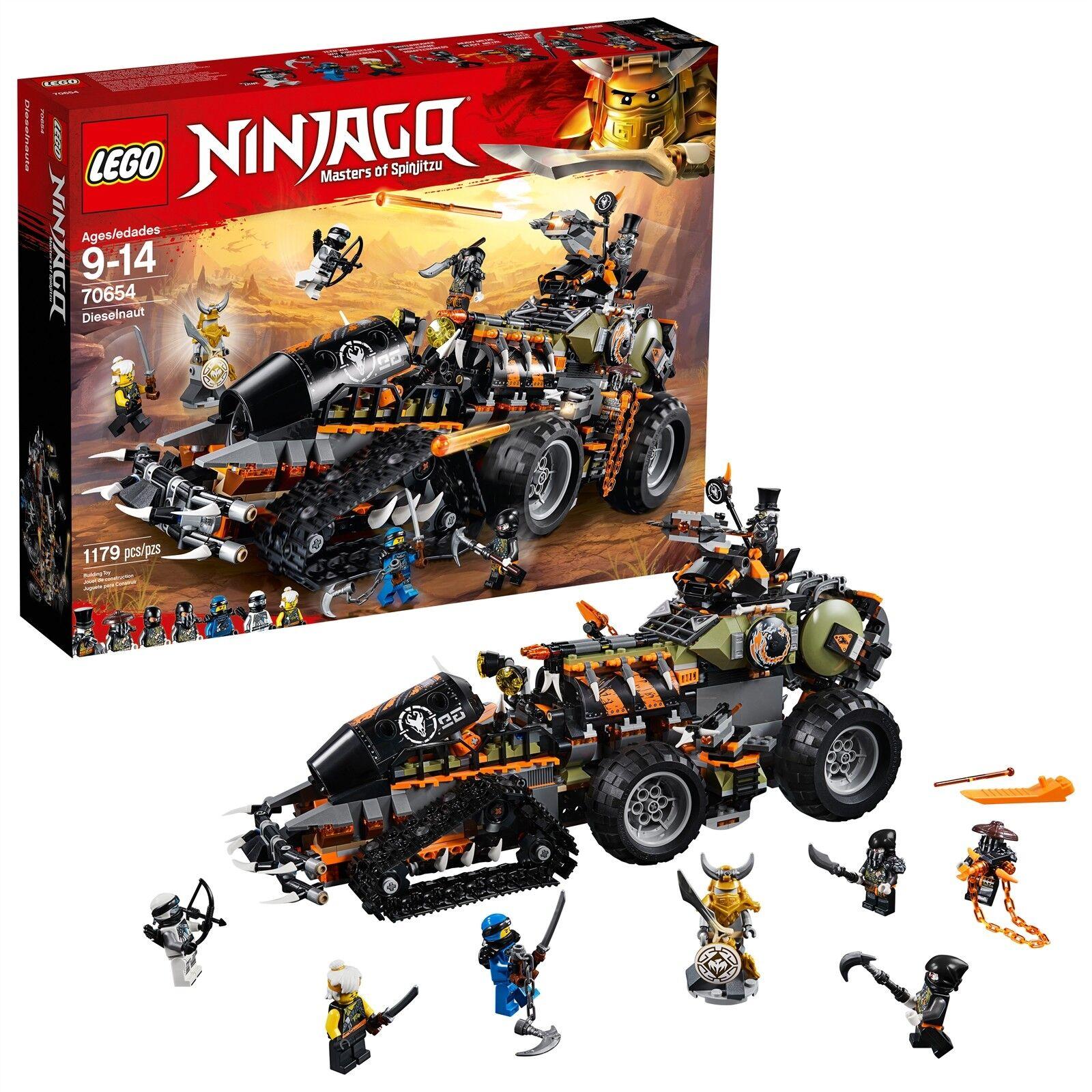 Lego ® Ninjago ® - dieselnaut 70654 1179 piezas