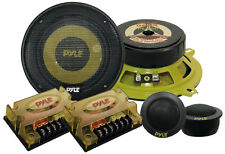 "PYLE GEAR 5.25"" 800w 2-way COPPIA Custom Auto Componenti Speaker System Set Kit"