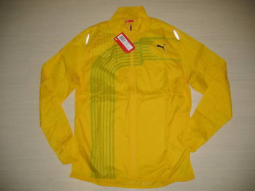 0660 USAIN BOLT PUMA L JACKET JACKET JACKET JAMAICA RUNNING LIGHT KWAY