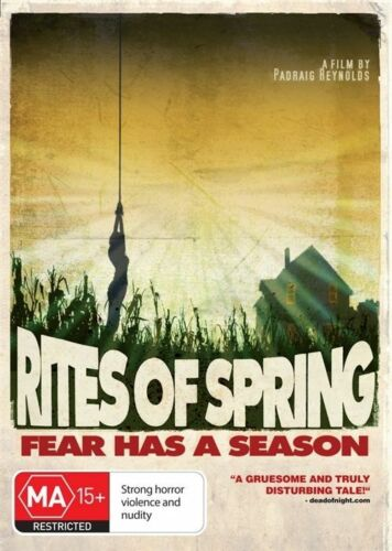 1 of 1 - RITES OF SPRING (2011) NEW DVD