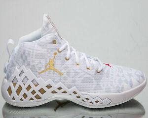 Scarpe da basket uomo NIKE Jordan Diamond mid tela bianco CI1204