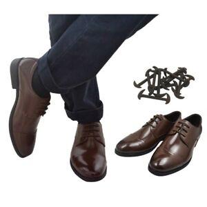 dc72721336e9d 12PCS No Tie Shoelaces Silicone Shoe Laces Men Formal Dress Shoes ...