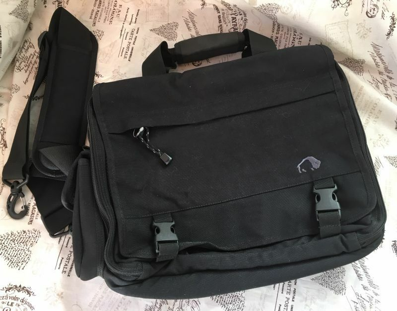 Tatonka Bag Shoulder Bag Ladies Mens Office Business Outdoor Black