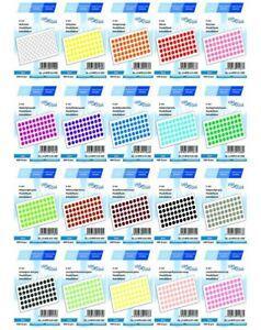 LabelOcean Pastilles Adh/ésives de Marquage Ronde Diam/ètre 50 mm Papier Autocollantes 500 Jaune Fluorescent