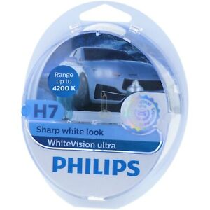 H7-PHILIPS-WhiteVision-ultra-LED-Effekt-4200-Kelvin-Scheinwerfer-Lampe-DUO-NEU
