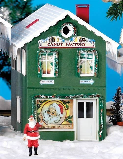 PIKO G SCALE NORTH POLE CANDY FACTORY BUILT-UP   BN   62713
