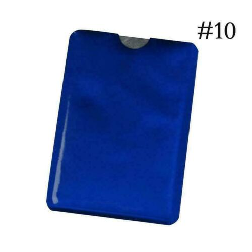 RFID Bank Card Blocking Contactless Debit Credit Protector Holders Wallet S Y5T0