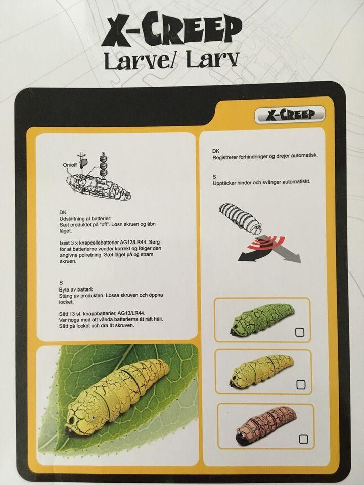Andet legetøj, larve, innovativ med sensor