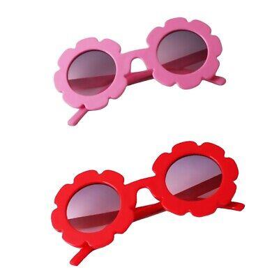 2pcs Occhiali da sole Avventura Fiori Neonato Neonato Rosso rosa | eBay