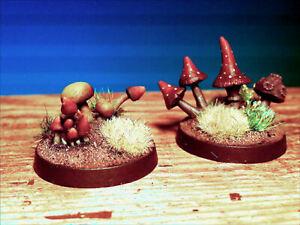 Mushroom-Fungi-War-gaming-Warhammer-LMF4-UNPAINTED-28mm-Scale-Langley-Models-Kit