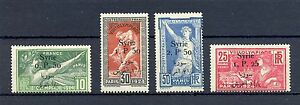 FRENCH COLONY = SYRIA YVERT#149/162 CV € 160 * MH VF 1924 OLYMPICS