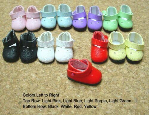 "7 1//2/"" Ginny 25mm LIGHT PURPLE Girl Dressy Shoes fit Kish Riley DOLL Shoes"