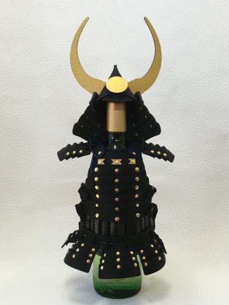 SAMURAI ARMOR bouteille de vin Housse Kuroda Nagamasa modèle made in Japan Good Design