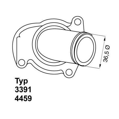 K/ühlmittel TRISCAN 8620 14192 Thermostat