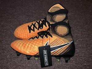 Nike Magista Obra II SG Pro Men s Soccer Cleats Yellow Black 869482 ... db5caa9841199