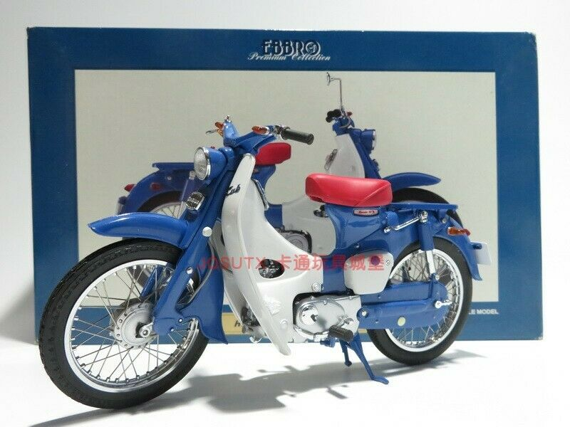 1 10 ebbro Honda Super CUB C100 ST50 1969 Motorcycle Die Cast modello