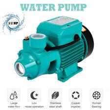 110v 12hp Electric Water Pump Industrial Pond Pool Farm Pump Centrifugal Pump