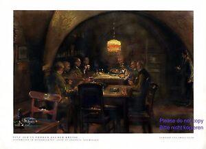 Gasthaus Loch Saalfeld XL Kunstdruck 1931 von Franz Huth * Pößneck † Weimar +