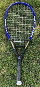 "Head i.S12 Powerframe Pro Tennis Racquet 4 3/8"" Grip - Graphite/Intel"