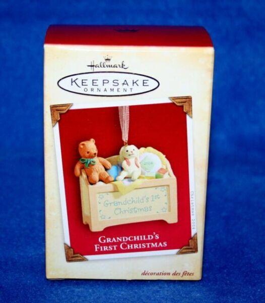 2004 Hallmark Keepsake Ornament Grandchild's First ...